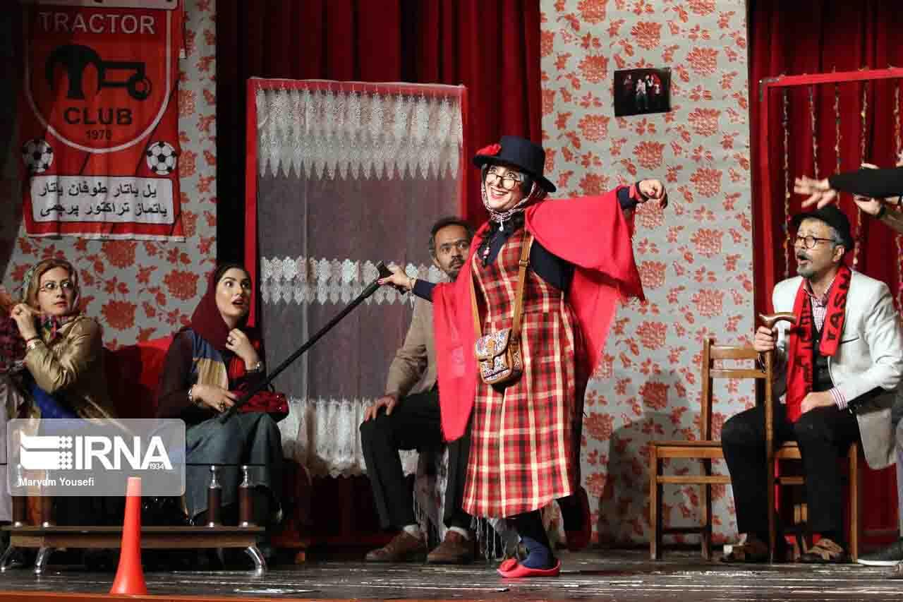 نمایش تراکتور در تبریز به روی صحنه می رود