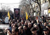 راهپیمایی و عزاداری انقلابی مردم تبریز در پی شهادت سردار سلیمانی