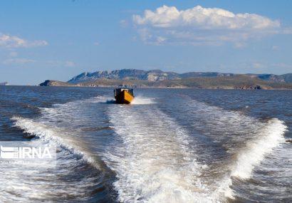وسعت دریاچه ارومیه با بیش از سه هزار کیلومترمربع ثابت مانده است