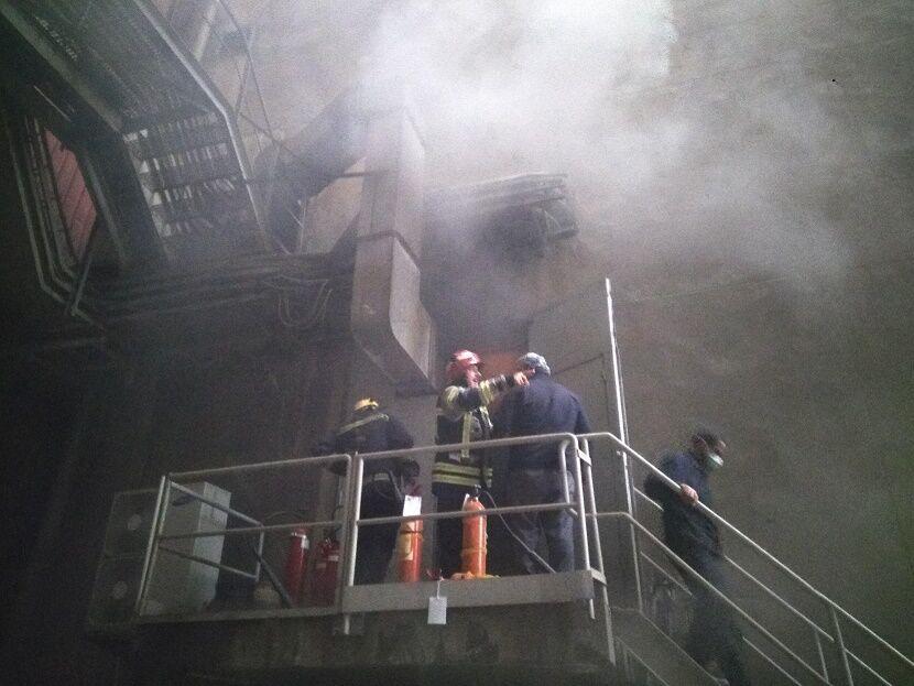 اتصال کوتاه دلیل آتشسوزی در نیروگاه تبریز اعلام شد